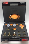 400 BAR PRESSURE TEST KIT WITH INLINE TEST COUPLING METRIC & BSP